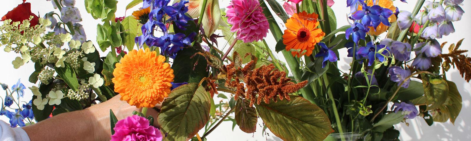 Een bloemenabonnement bij MJ Bloem in Leusden